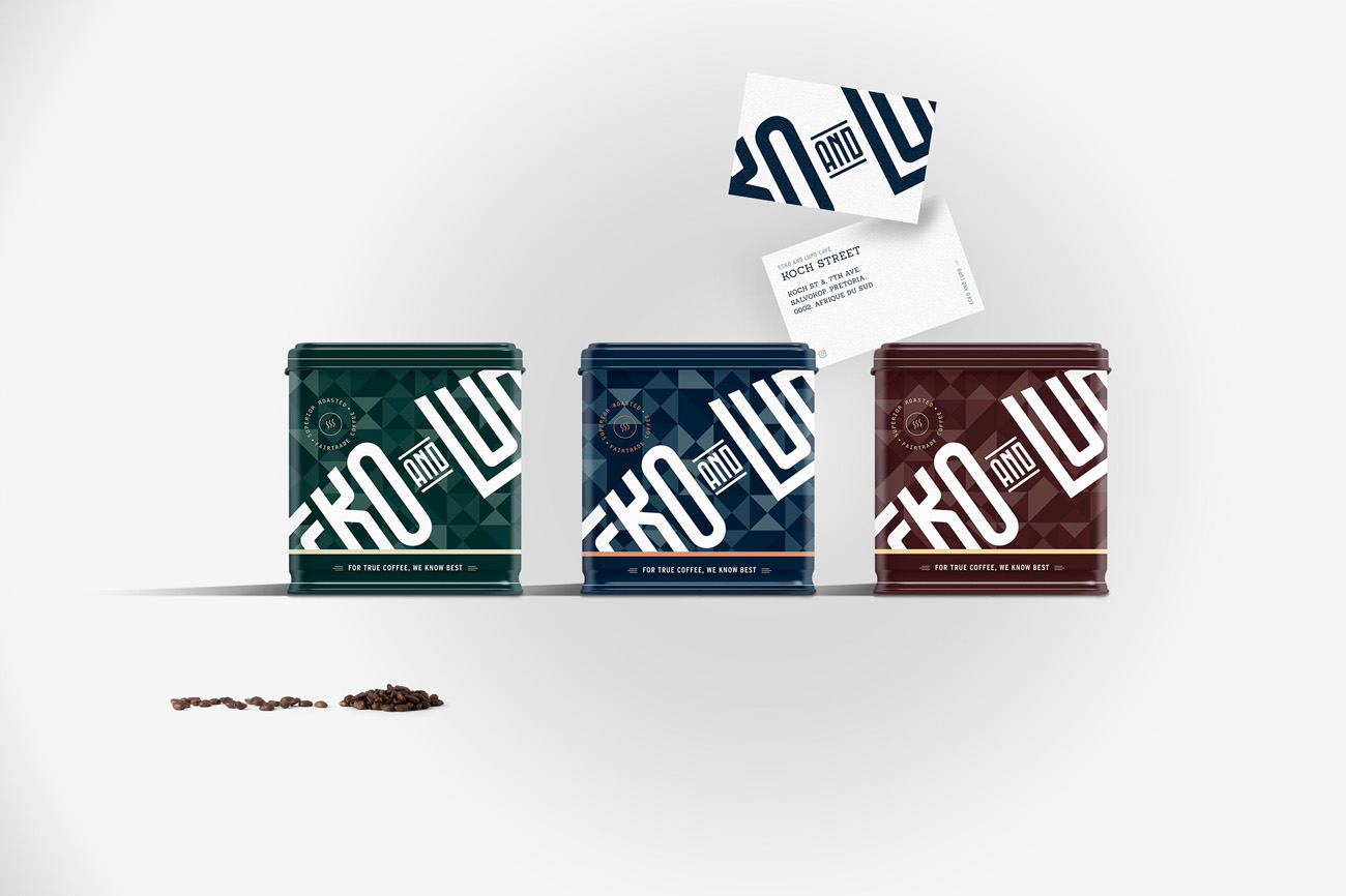coffee jars mockup packagings ecko lupo branding coffee roasters