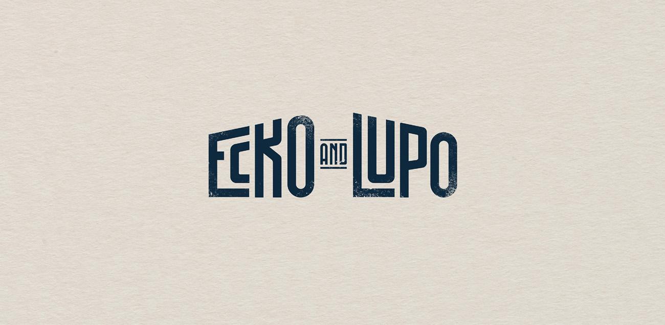 logo ecko lupo branding coffee roaster
