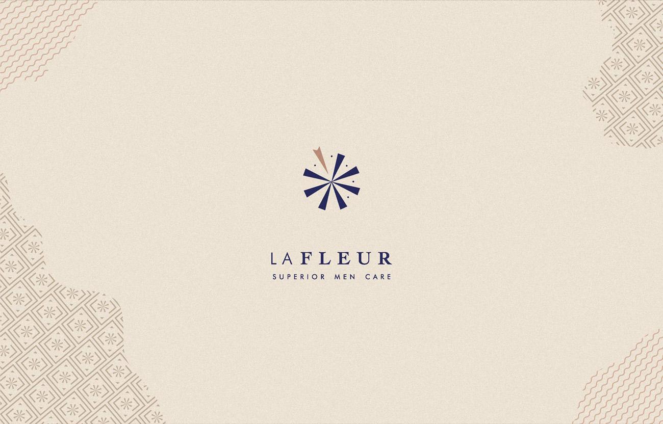 lafleur cosmetics branding logo