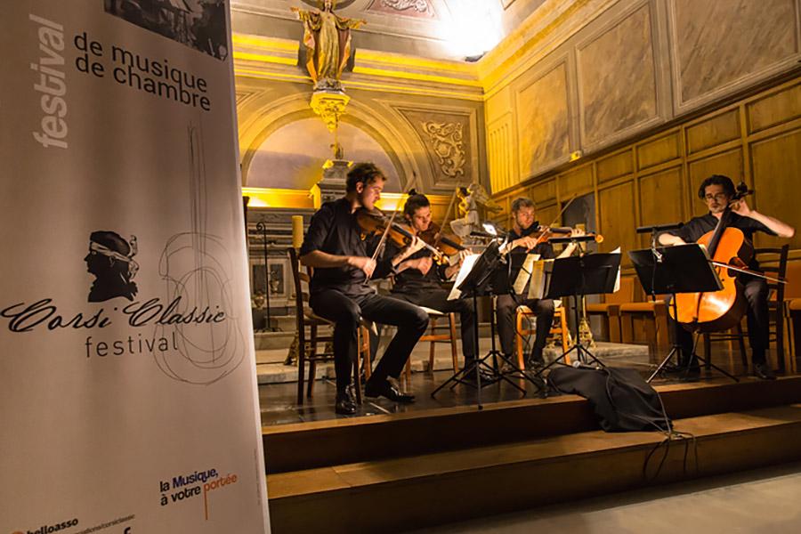 Corsiclassic festival de musique de Chambre en Corse, Afa concert rollup print
