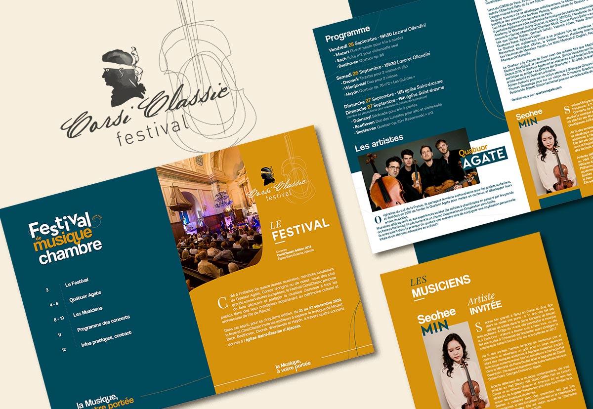 Corsiclassic festival de musique de Chambre en Corse, communication 2020
