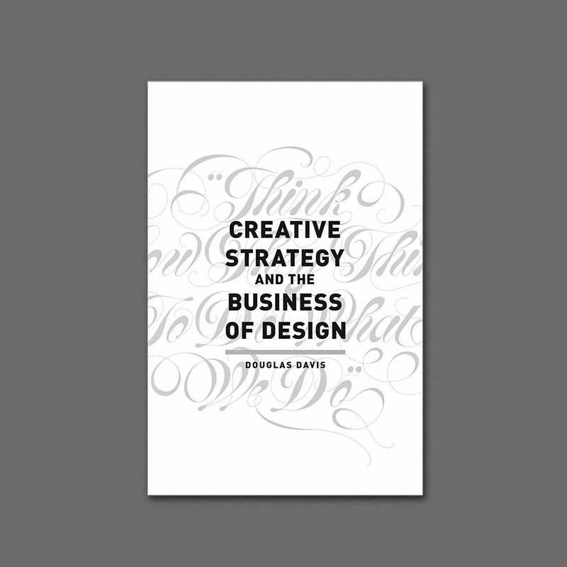 photo du livre creative strategy design book