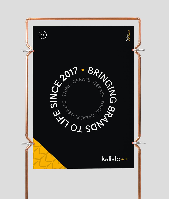 Kalistostudio poster design typography branding graphic design webdesign