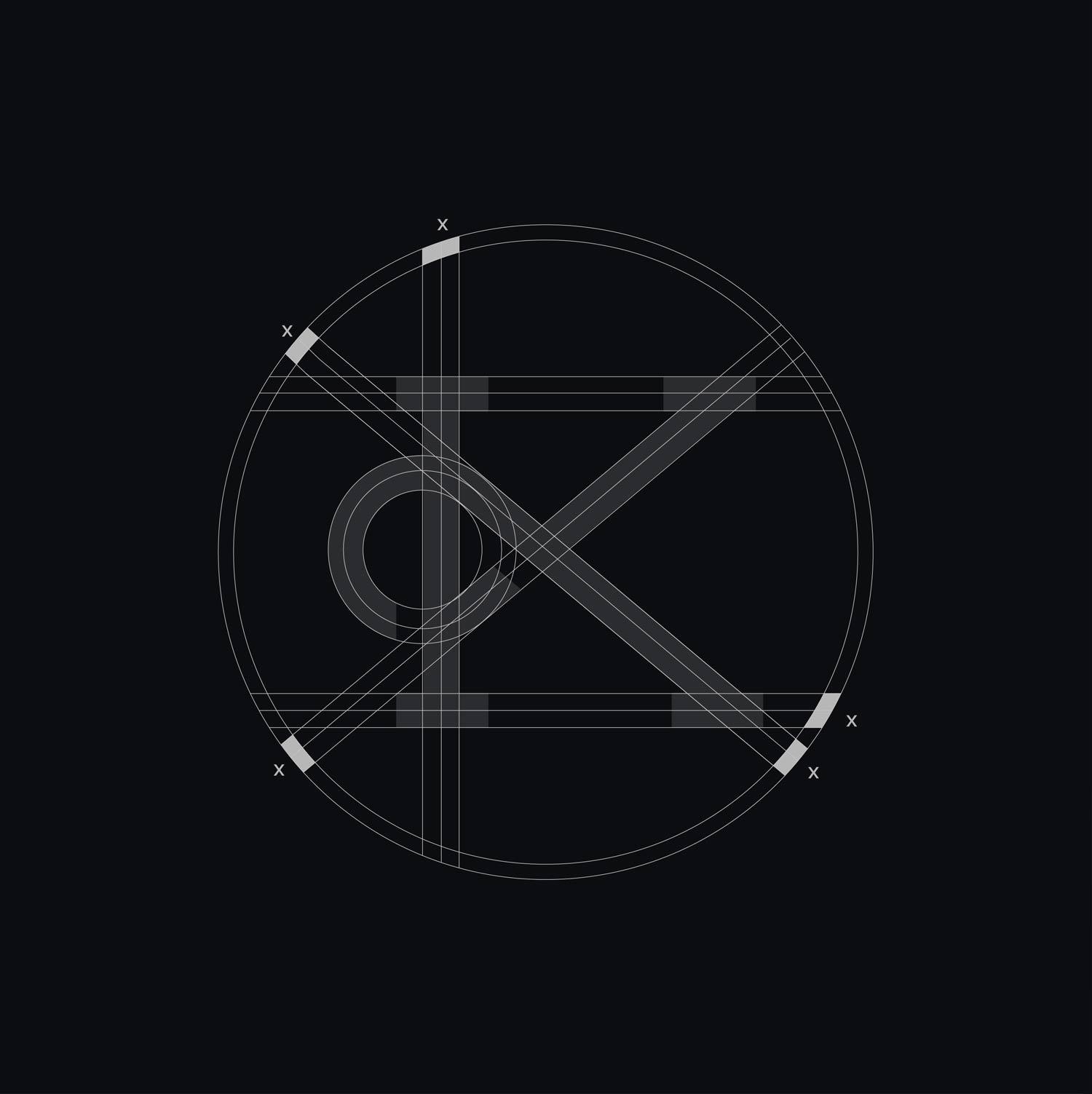 Kalistostudio logo design grid branding graphic design webdesignp