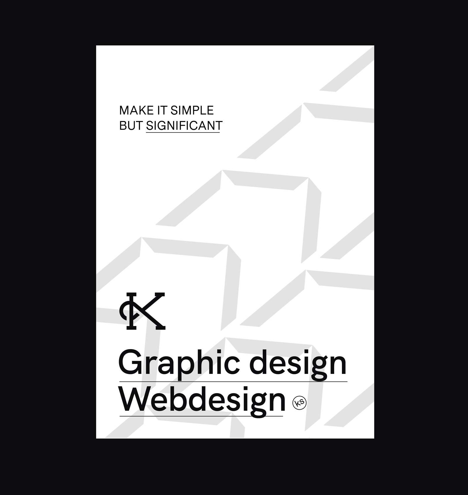 Kalisto studio logo custom typography poster personal branding and icon set branding graphic design webdesign
