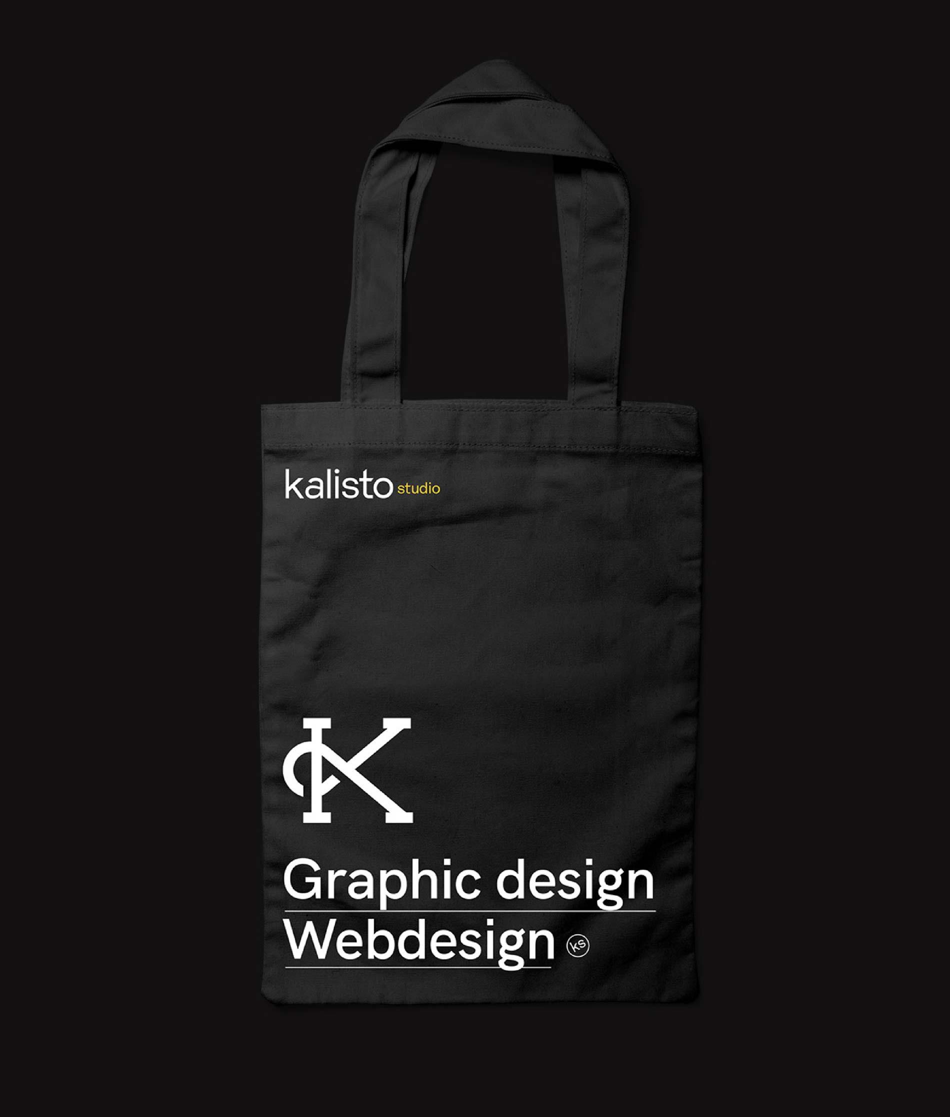 Kalistostudio tote bag mockup branding graphic design webdesign