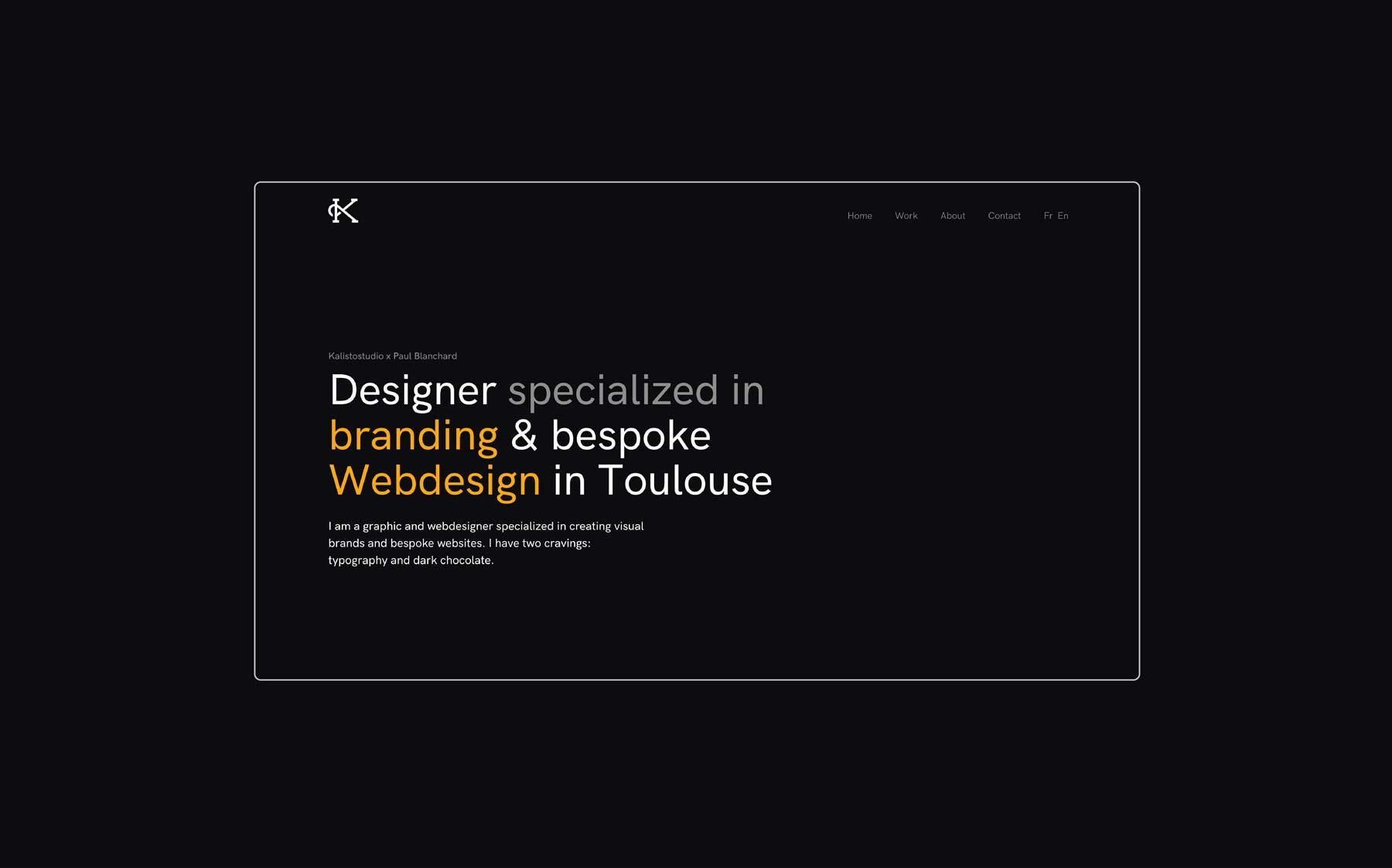 Kalistostudio ipad mockup website webdesign