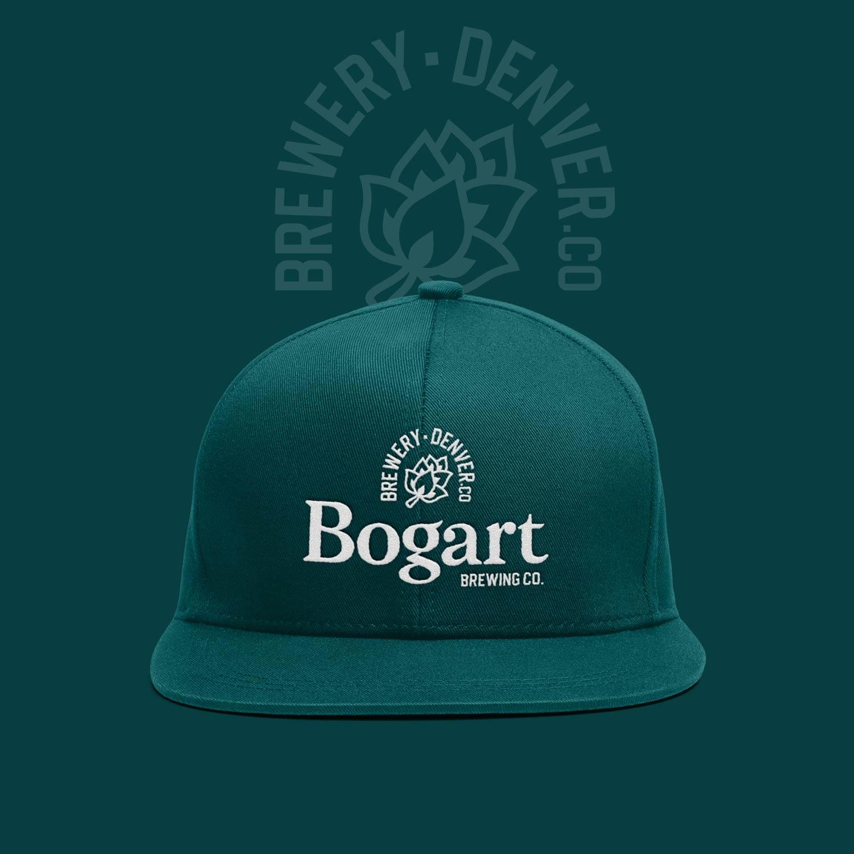 Bogart brewery craft brewery branding cap design cans mockup Kalistostudio craft beer design