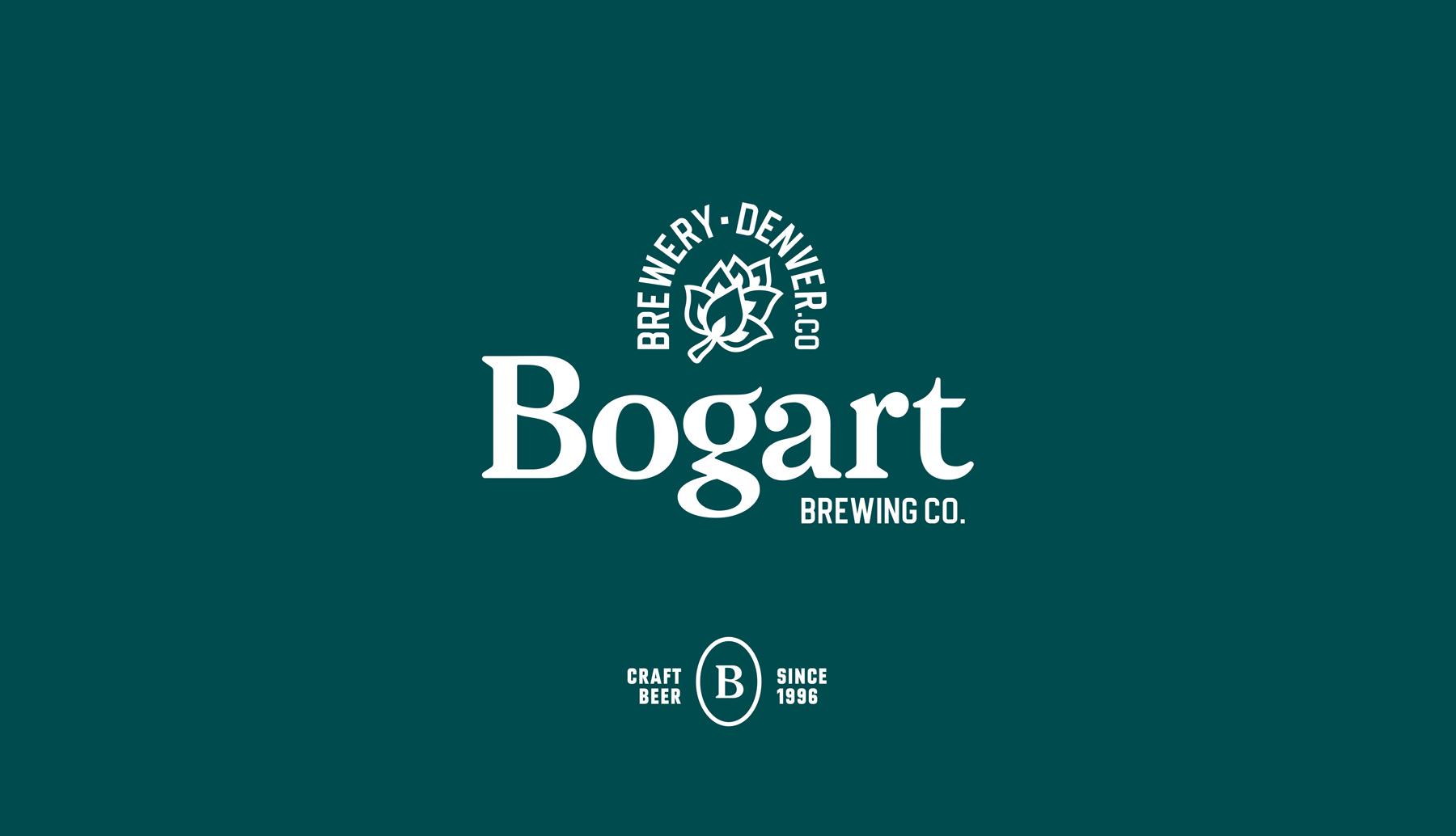 Bogart brewery craft brewery branding logo beer can mockup Kalistostudio craft beer design