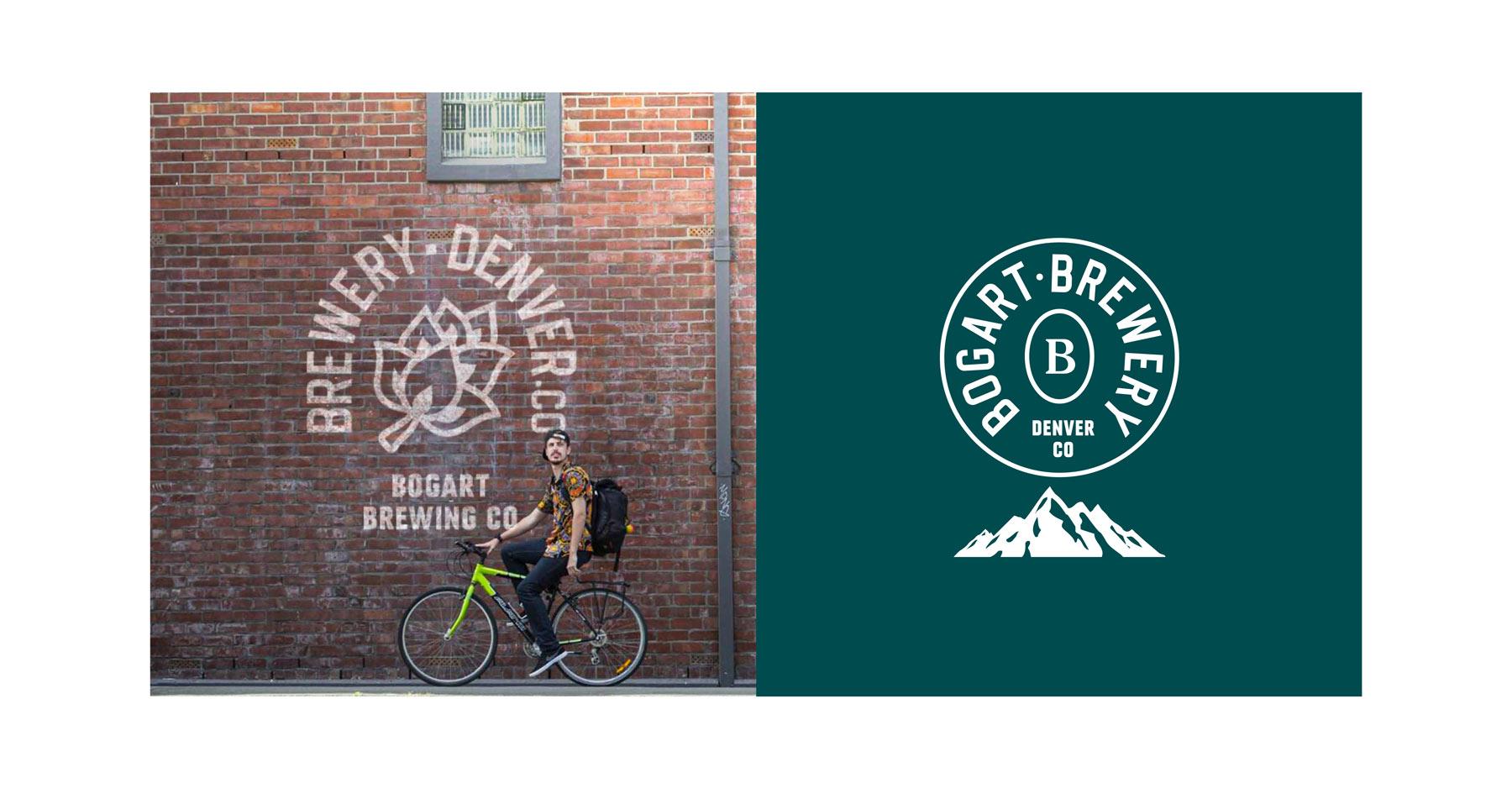 Bogart brewery craft brewery branding beer can label design mockup Kalistostudio craft beer design