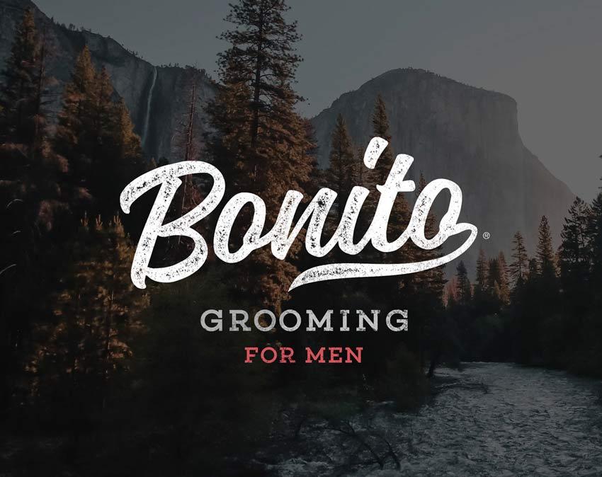logo bonito grooming cosmetics brand